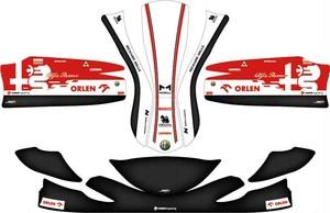 レーシングカート カウルステッカーRR用 Alfa Romeo-F1特注品PAROLIN