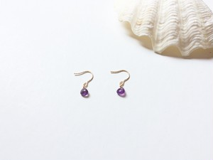14kgf amethyst pierce