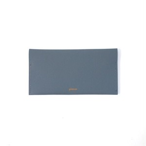 Wallet L -Grey Plain-