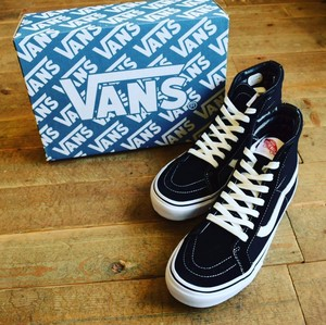 VANS(バンズ) JAPAN LIMITED CLASSIC SK8-HI V38OG BLACK