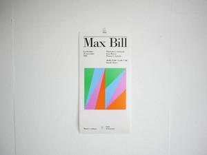 Max Bill Exhibition Poster 1991