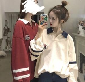 全2色♡ オーバーサイズポロシャツ♡