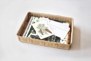 bamboo tray  / 竹の角物トレイ