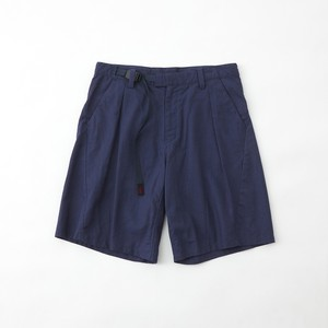 WM × GRAMICCI DARTED SHORT PANTS - NAVY