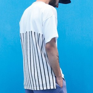 "QUOLT / クオルト | 【 SALE!! 20%OFF 】 "" BOOST "" 背STRIPE切替 Tee"