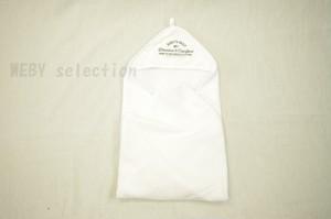 H&M HOME ベビー フード付きバスタオル 2色展開 <ホワイト> おくるみ