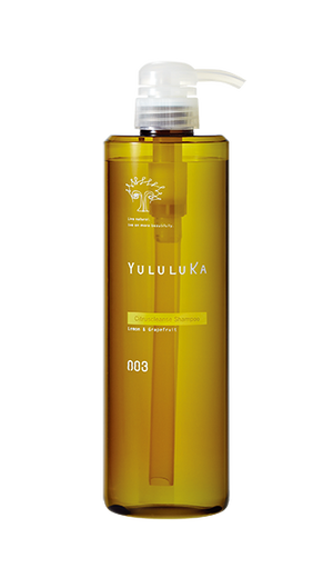 ユルルカ シトラスクレンズ シャンプー 660mlボトルサイズ