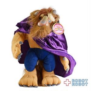 ディズニーオンアイス 美女と野獣 アダム王子/ビースト ぬいぐるみ 38センチ