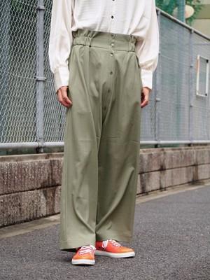 NATSUMI ZAMA Wide Trousers(olive)