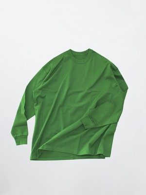 MAISON EUREKA Giza Cotton L/S Pack Tee Green 081