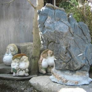 看板石・飾り石