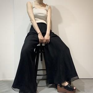 vintage maxi flare pants