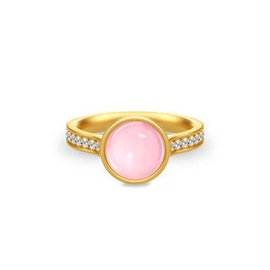 JULIE SANDLAU AURORA RING ROSE MOON