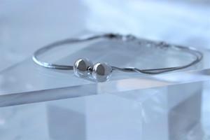 #=04.【  BALL  】×   snake bracelet × 925silver × free