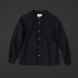 マルチポケットシャツ 2nd 黒×黒+P