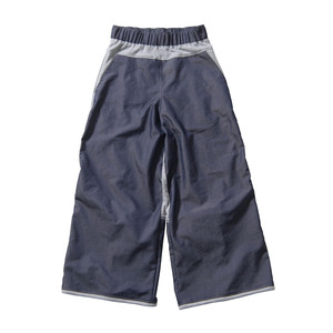 lace up buggy pants #navy