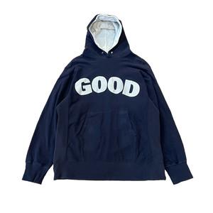 【used】GOODENOUGH 90s GOODロゴ プルオーバーパーカー
