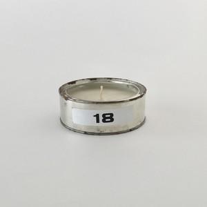 缶入りキャンドル 18|Emergency Canned Candle 18(PUEBCO)