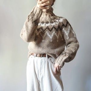 Nordic pattern sweater