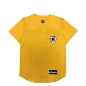 MESH BASEBALL SHIRT /YELLOW