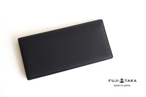 【9月末限定価格】フジタカ|FUJITAKA|グレインレザーロングウォレット|長財布