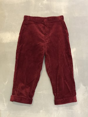 Corduroy Jodhpurs Pants / Made in Denmark [G-1025]
