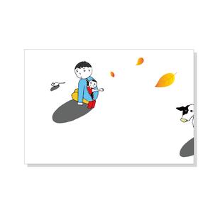 冬至ポストカード(2枚セット)
