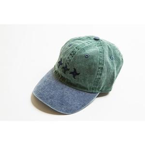 手裏剣CAP(グリーン/ブルー)