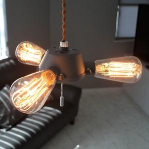 ペンダントライト ランプ 照明 Grip(グリプ) 裸電球 モダン レトロ LED対応