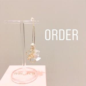 order アクセサリー 中嶋様