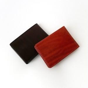 カード&コインケース(焦茶)
