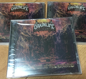 Drain Life - Revelations of the Enslaved CD