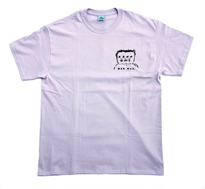 MAN WHO TEE orchid L マンフー Tシャツ
