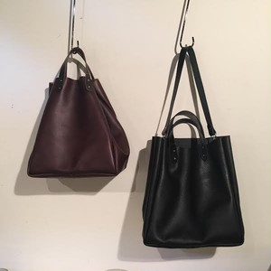 GS Genuine Leather 2Way Tote Bag by TEMBEA / STUSSY Livin' GENERAL STORE