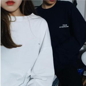 シンプルロゴTシャツ オーバーサイズ ユニセックス【HQ00059】