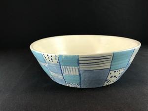青  ICHIMATU 平鉢