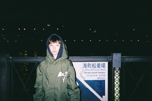 BOY LOGO MILITARY COAT(KAHKI②)