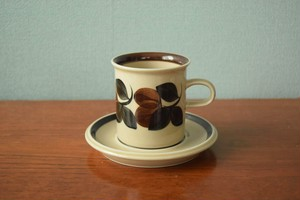 アラビアルイージャコーヒーカップ&ソーサー【ARABIA Ruija】北欧 食器・雑貨 ヴィンテージ | ALKU