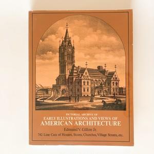 19世紀の主要な建築様式のイラストとアメリカの建築 American architecture
