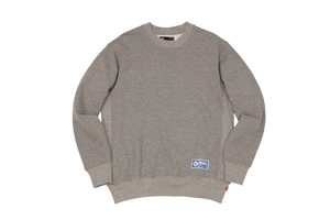 WHIMSY / ATHLETIC CREWNECK -HEATHER GREY-