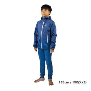 Kids / UN2100 Light weight fleece hoody / Navy