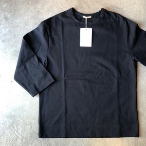 LAMOND ラモンド 7分袖 カットソー ブラック