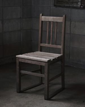 味のある木の椅子
