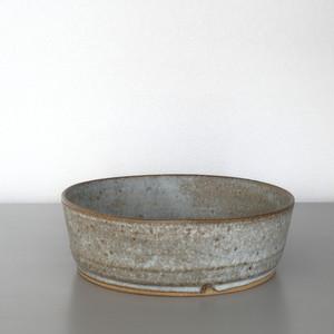 二井内覚|ドラ鉢(青マット小) Satoru Niinai bowl(small)