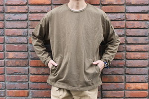 SANDINISTA / Pocket & Drawstling L-S Tee