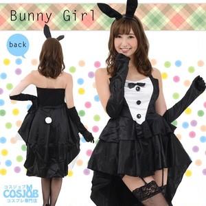 バニーガール ドレス (ブラック)