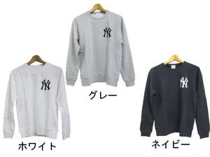 MAJESTIC【NYヤンキース】MLB 裏毛  レディース トレーナー