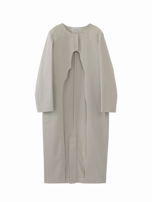 Hole coat / light grey / S15CO02