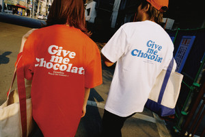Give me Chocolate Tee【White / Orange / Lavender】