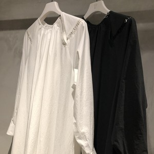 "【SALE ""アトリエ市""】mintdesigns / MIRROR BUCKLE DRESS"